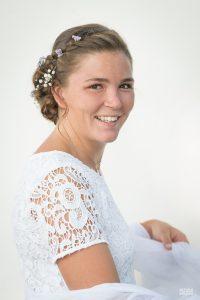 PHOTOS DE MARIÉE : TEST DES FUMIGÈNES COLORÉS À NOIRMOUTIER