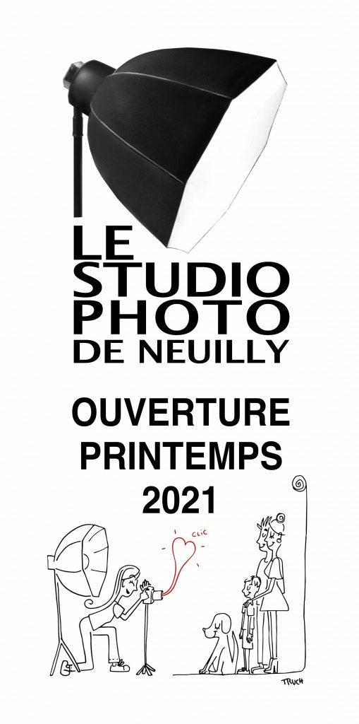Visuel ouverture du Studio Photo de Neuilly